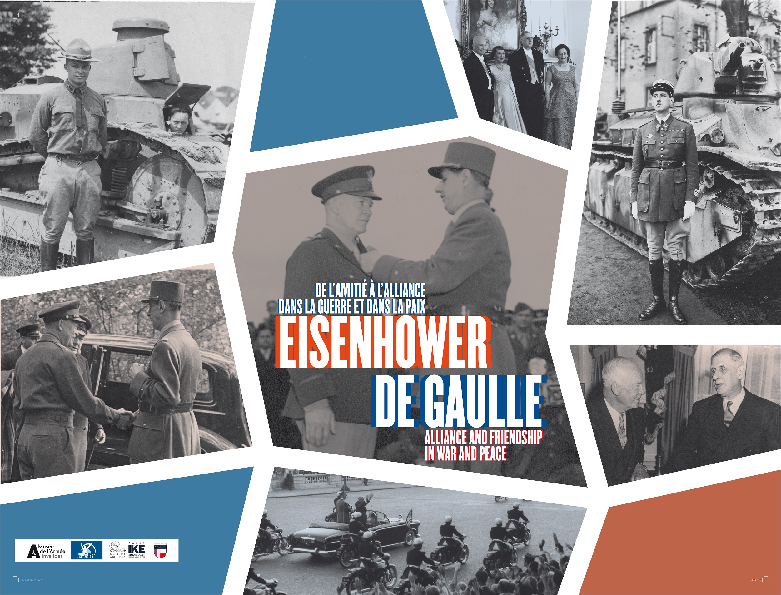 Eisenhower and de Gaulle