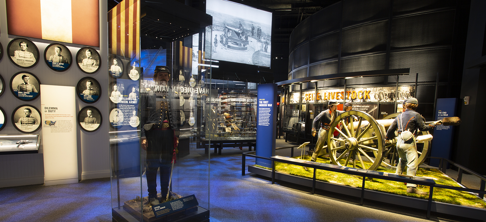 Preserving the Nation Exhibit