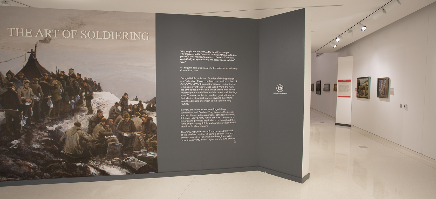 The Art of Soldiering Exhibition Gallery