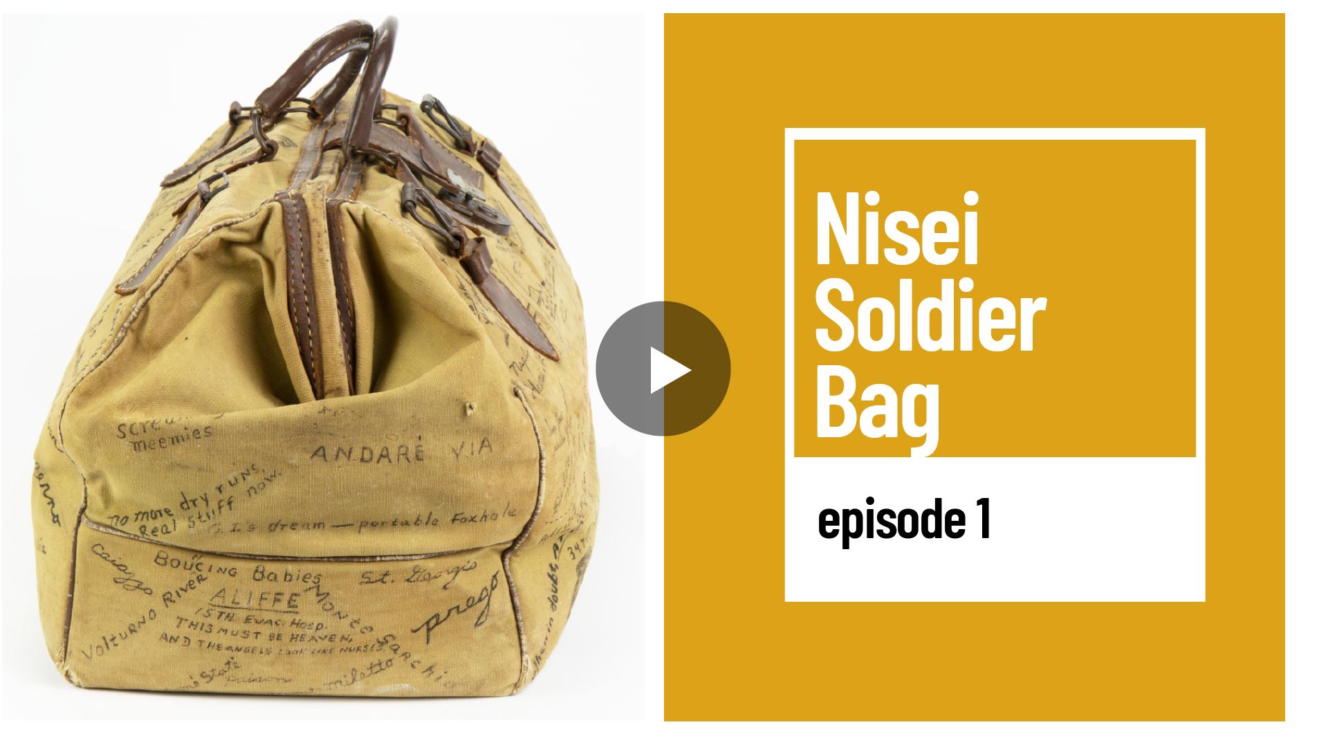 Nisei Soldier Bag