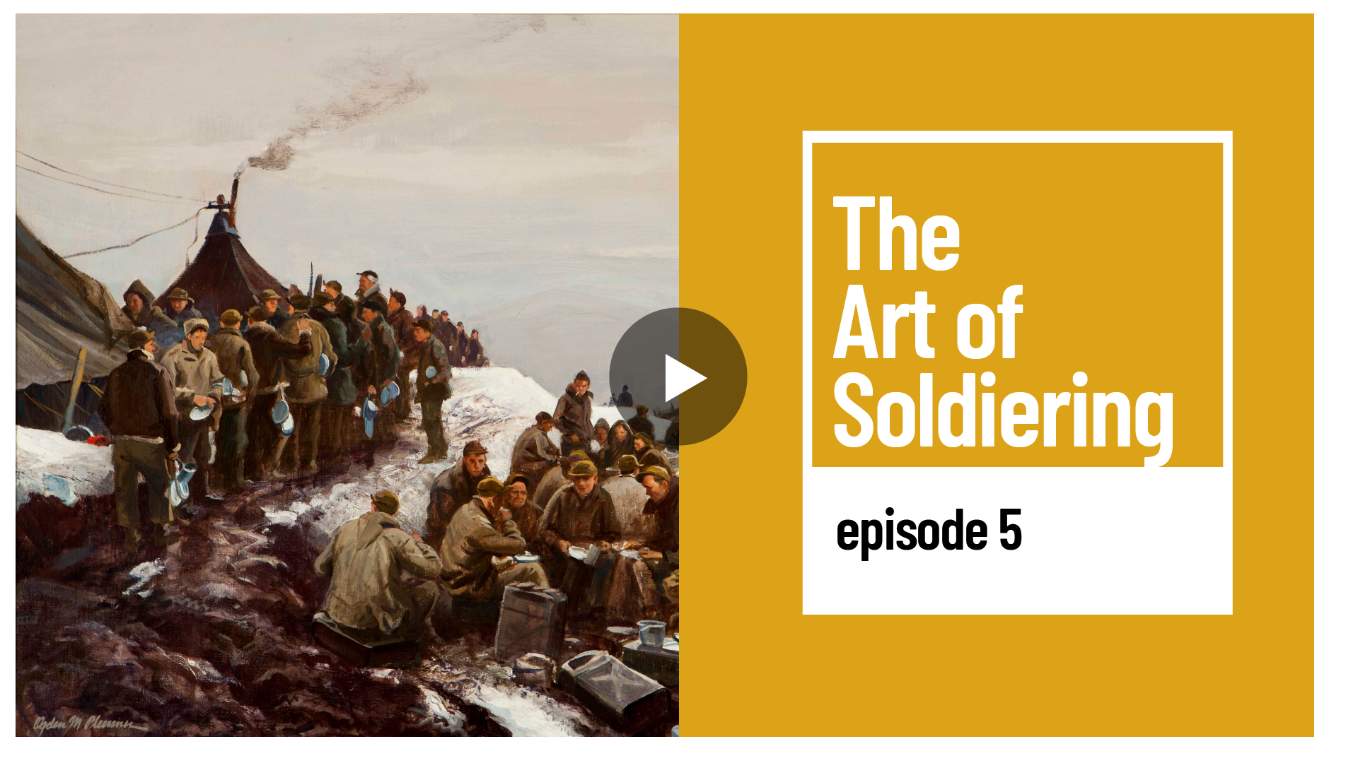 The Art of Soldiering