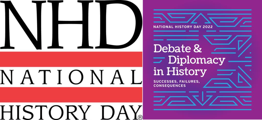 National History Day logo and Debate & Diplomacy in History logo